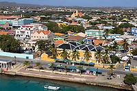 Kralendijk, Bonaire, Leeward Antilles.  Waterfront View.