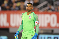 EAST RUTHERFORD, NJ - SEPTEMBER 7: Zack Steffen #1 of the United States during the game during a game between Mexico and USMNT at MetLife Stadium on September 6, 2019 in East Rutherford, New Jersey.