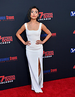 "LOS ANGELES, USA. August 14, 2019: Brianne Tju at the premiere of ""47 Meters Down: Uncaged"" at the Regency Village Theatre.<br /> Picture: Paul Smith/Featureflash"