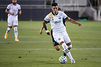 SAN JOSE, CA - SEPTEMBER 19: Julio Cascante #18 of the Portland Timbers during a game between Portland Timbers and San Jose Earthquakes at Earthquakes Stadium on September 19, 2020 in San Jose, California.