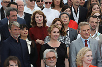 MADDSMIKKELSEN SALMA HAYEK GEORGE MILLER MAREN ADE PARK CHAN WOOK CHARISTOPH WALTZ SOFIA COPPOLA JESSICA CHASTEN MARION COTIILARD TILDA SWINTON 70th Anniversary Photocall - The 70th Annual Cannes Film Festival<br /> CANNES, FRANCE - MAY 23