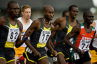 EUGENE, OR--Bernard Lagat competes in the Bowerman Mile at the Steve Prefontaine Classic, Hayward Field, Eugene, OR. SUNDAY, JUNE 10, 2007. PHOTO © 2007 DON FERIA