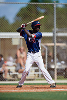 Deion Walker during the WWBA World Championship at the Roger Dean Complex on October 18, 2018 in Jupiter, Florida.  Deion Walker is an outfielder from Marietta, Georgia who attends Hillgrove High School.  (Mike Janes/Four Seam Images)