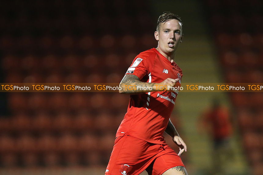 Jordan Maguire-Drew of Leyton Orient during Leyton Orient vs Plymouth Argyle, Caraboa Cup Football at The Breyer Group Stadium on 15th September 2020
