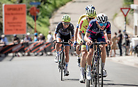 breakaway group led by Milan Paulus (BEL/SEG)<br /> <br /> 55th Grote Prijs Jef Scherens - Rondom Leuven 2021 (BEL)<br /> One day race from Leuven to Leuven (190km)<br /> ridden over the final circuit of the 2021 World Championships road races <br /> <br /> ©kramon
