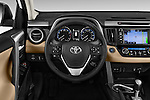 Car pictures of steering wheel view of a 2018 Toyota RAV4 Limited 5 Door SUV Steering Wheel