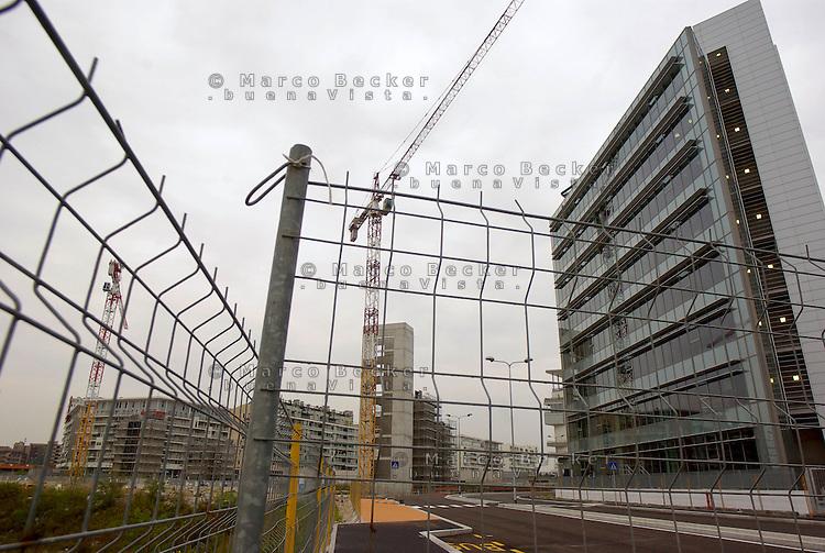 milano, nuovo quartiere rogoredo - santa giulia, periferia sud-est. la sede di sky --- milan, new district rogoredo - santa giulia, south-east periphery. sky headquarters