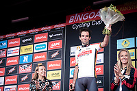 overall classification winner, Baptiste Planckaert (BEL/Wallonie Bruxelles)<br /> <br /> 23th Memorial Rik Van Steenbergen 2019<br /> One Day Race: Beerse > Arendonk 208km (UCI 1.1)<br /> ©kramon