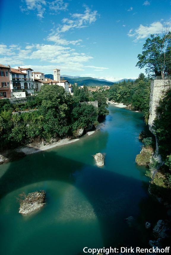 Natisone-Schlucht, Cividale del Friuli, Venetien-Friaul, Italien