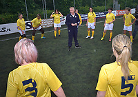 """The women's soccer team of Vatican City. 26 may 2019<br /> the coach of the Vatican representative Gianfranco Guadagnoli<br /> <br /> Women's football arrives at the Vatican, with what can be considered in all respects the women's national football team of the Holy See. The Vatican representative, announced in recent weeks, made its debut yesterday afternoon, Sunday 26 May, in the sports center of the Knights of Columbus, against the Roma women's team of Roma.<br /> The girls that make up the team are all Vatican employees or wife and daughters of staff of the Holy See, plus some players from the Bambino Gesù hospital team who joined for this 11-a-side football match. «We are born in an amateur way - he tells the attacker and captain of the Vatican Eugene Tcheugoue - and playing together represents for us above all a way to get to know and be together ».<br /> <br /> The young soccer player, a graduate in theology and a native of Cameroon, has no doubts about the great important symbolism of the team: """"Many of us are mothers even before they are employees or at least daughters and wives, so in the first place for us is the metaphor of football as a gym of life. Sport in general - says Eugene Tcheugoue - conveys a fundamental message, both for the new generations and in particular for women """"."""