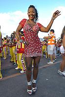 SÃO PAULO, SP, 29 DE JANEIRO DE 2012 - ENSAIO TÉCNICO TOM MAIOR - Ensaio técnico da Escola de Samba Tom Maior na praparação para o Carnaval 2012. O ensaio foi realizado  neste domingo (29) no Sambódromo do Anhembi, zona norte da cidade. FOTO: LEVI BIANCO - NEWS FREE