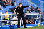 Coach Jose Luis Mendilibar of SD Eibar gestures during the La Liga 2017-18 match between Getafe CF and SD Eibar at Coliseum Alfonso Perez Stadium on 09 December 2017 in Getafe, Spain. Photo by Diego Souto / Power Sport Images
