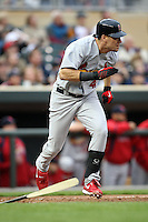 April 2, 2010: Ryan Ludwick of the St. Louis Cardinals in the first professional baseball game played at the Minnesota Twins new home, Target Field. Photo by: Chris Proctor/Four Seam Images