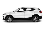 Car Driver side profile view of a 2018 BMW X2 Premiere 5 Door SUV Side View