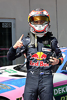 4th September 2021; Red Bull Ring, Spielberg, Austria; DTM  Race 1 at Spielberg;   Liam Lawson NZ Red Bull AF Corse, Ferrari 488 GT3 Evo winner of race 1