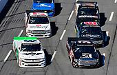 #51: Kyle Busch, Kyle Busch Motorsports, Toyota Tundra Cessna and #45: Ross Chastain, Niece Motorsports, Chevrolet Silverado TruNorth/Paul Jr. Designs