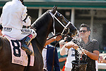 June 26, 2021: Double Thunder, #8, ridden by jockey John Velazquez, wins the Bashford Manor Stakes (Grade 3) at Churchill Downs on June 26, 2021 in Louisville, Kentucky. Candice Chavez/Eclipse Sportswire/CSM