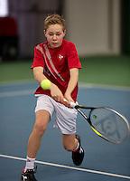March 15, 2015, Netherlands, Rotterdam, TC Victoria, NOJK, Lodewijk Westrate (NED)<br /> Photo: Tennisimages/Henk Koster