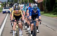 eventual winner Pascal Eenkhoorn (NED/Jumbo-Visma) coming to the front<br /> <br /> Heylen Vastgoed Heistse Pijl 2021 (BEL)<br /> One day race from Vosselaar to Heist-op-den-Berg (BEL/193km)<br /> <br /> ©kramon