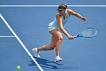 August 14,2019:   Maria Sharapova (RUS) loses to Ashleigh Barty (AUS) 6-4, 6-1, at the Western & Southern Open being played at Lindner Family Tennis Center in Mason, Ohio.  ©Leslie Billman/Tennisclix/CSM