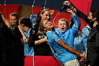 1st November 2020; Wembley Stadium, London, England; Womens FA Cup Final Football, Everton Womens versus Manchester City Womens; Steph Houghton of Manchester City Women having Champagne poured onto her