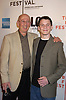 """Anton Yelchin and father Victor ..at the world Premiere of """"Fierce People"""" at the Tribeca Film Festival on April 24, 2005 at the Tribeca Performing Arts Center. ..Photo by Robin Platzer, Twin Images"""