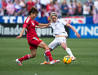 Commerce City, CO - April 5, 2014: The US women's national team played China during an international friendly at Dick's Sporting Goods Park.