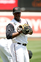 Chris Carter, Sacramento RiverCats against the Reno Aces at Raley Field, Sacramento, CA - 04/18/2010.Photo by:  Bill Mitchell/Four Seam Images.