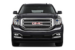 Car photography straight front view of a 2015 GMC Yukon Xl Sle 5 Door Suv 2WD Front View