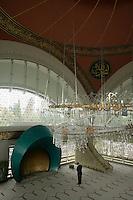 The Sakirin Mosque in Uskudar, Istanbul. Newly built in May 2009, architect xxxxx, interior designer Zeynep xxxxxxxxxxx