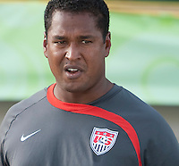 Assistant Coach Gerson Echeverry. Italy defeated the US Under-17 Men's National Team 2-1 in Kaduna, Nigera on November 4th, 2009.