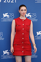 """VENICE, ITALY - SEPTEMBER 06: Anamaria Vartolomei at the photocall of """"L'Evenement"""" during the 78th Venice International Film Festival on September 06, 2021 in<br /> CAP/GOL<br /> ©GOL/Capital Pictures"""