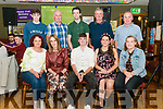 Cormac O'Connor (centre) from Beaufort celebrated his 21st birthday surrounded by friends and family in the Sportsman Bar, Killarney last Saturday night. Pictured with his family front l-r Triona, Margaret, Charlotte and Aoife O'Connor, back l-r Niall, Pat, Jason and Vincent O'Connor.