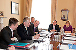 First Minister Alex Salmond held the final cabinet meeting of this government at Bute house today .Pic Kenny Smith, Kenny Smith Photography.6 Bluebell Grove, Kelty, Fife, KY4 0GX .Tel 07809 450119,