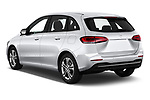Car pictures of rear three quarter view of 2019 Mercedes Benz B-Class - 5 Door Mini Mpv Angular Rear