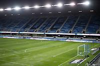 SAN JOSE, CA - OCTOBER 28: Earthquakes Stadium before a game between Real Salt Lake and San Jose Earthquakes at Earthquakes Stadium on October 28, 2020 in San Jose, California.