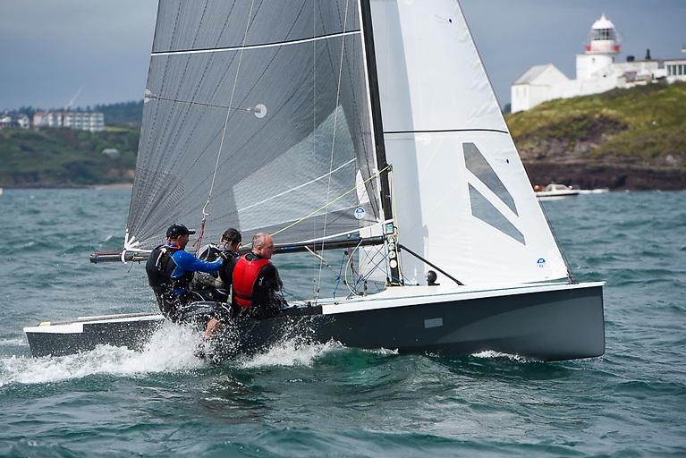 A 90kg wireman is the optimum weight for this weekend's National 18-based All Ireland Sailing Championships
