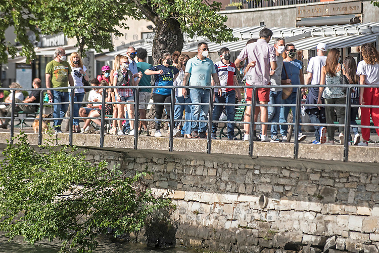 Como, corona virus fase 2 turismo e movida