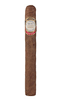 BNPS.co.uk (01202 558833)<br /> Pic: Duke'sAuctions/BNPS<br /> <br /> Pictured: The cigar.<br /> <br /> An unsmoked cigar given by Winston Churchill to his electrician has emerged for sale.<br /> <br /> So impressed was the wartime PM  with Ronald Cooper's work at installing lights around his lake at Chartwell, his country house in Kent, he handed him a limited edition Cuban cigar.<br /> <br /> Mr Cooper treasured the cigar, that was made by J, Cuesta of Havana, for the rest of his life.