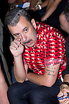 01.09.2012. Celebrities attending the David Delfin fashion show during the Mercedes-Benz Fashion Week Madrid Spring/Summer 2013 at Ifema. In the image Felix Sabroso (Alterphotos/Marta Gonzalez)