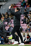 Head Coach Marcelino Garcia Toral of Valencia CF gestures during the Copa Del Rey 2017-18 match between FC Barcelona and Valencia CF at Camp Nou Stadium on 01 February 2018 in Barcelona, Spain. Photo by Vicens Gimenez / Power Sport Images