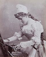 Victorian fancy dress portraits abound at Foulis Castle