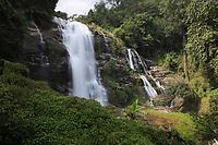 Wachirathan Waterfall , Doi Inthanon National Park , Mae Chaem District, Chiang Mai Province, Thailand