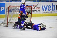 IJSHOCKEY: HEERENVEEN: 15-02-2019, IJsstadion Thialf, UNIS Flyers - Hijs Hokij Den Haag uitslag 3-6, ©foto Martin de Jong