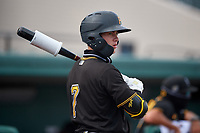 Pittsburgh Pirates Solomon Maguire (7) on deck during a Florida Instructional League game against the Detroit Tigers on October 16, 2020 at Joker Marchant Stadium in Lakeland, Florida.  (Mike Janes/Four Seam Images)