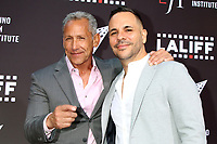 LOS ANGELES - JUN 2:  Angelo Pagan, Anthony Nardolillo at the 7th and Union Premiere -  Los Angeles Latino International Film Festival at the TCL Chinese Theater IMAX on June 2, 2021 in Los Angeles, CA