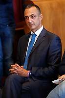 The president of the capitoline assembly of Rome Marcello De Vito, during a conference in the Giulio Cesare hall of the Campidoglio. <br /> Rome (Italy), September 15th 2021<br /> Photo Samantha Zucchi Insidefoto