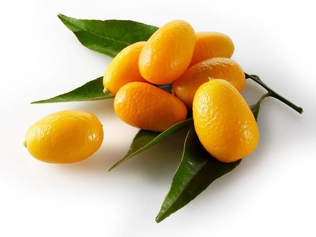 Fresh Kumquats citrus fruit
