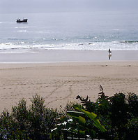 A view of one of Plettenberg bay's golden beaches
