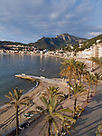 Idyllic pictures from Majorca, Spain, from the quiet little town Port So?ller